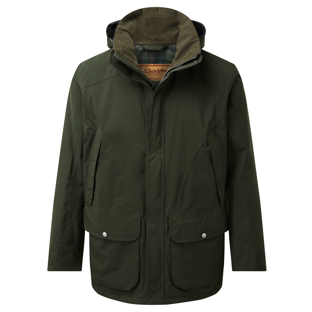Schoffel Country Snipe Coat Forest