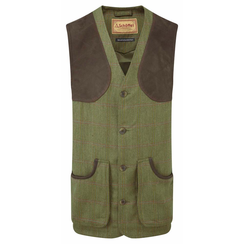Schoffel Country Ptarmigan Tweed Waistcoat Sandringham Tweed