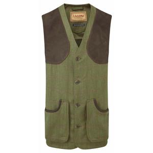 Ptarmigan Tweed Waistcoat Sandringham Tweed