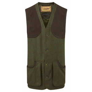 Schoffel Country Ptarmigan Tweed Waistcoat II in Windsor Tweed