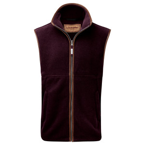 Schoffel Country Oakham Gilet in Aubergine