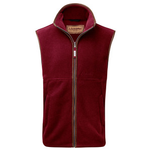 Schoffel Country Oakham Gilet in Burgundy