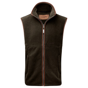 Schoffel Country Oakham Gilet in Dark Olive