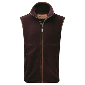 Schoffel Country Oakham Gilet in Fig