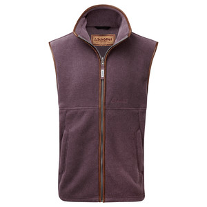 Schoffel Country Oakham Gilet in Mink/Heather