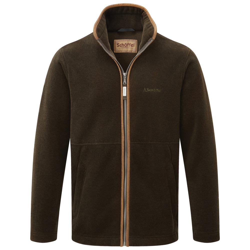 Schoffel Country Cottesmore Fleece Jacket Dark Olive