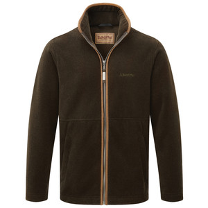 Schoffel Country Cottesmore Fleece Jacket in Dark Olive