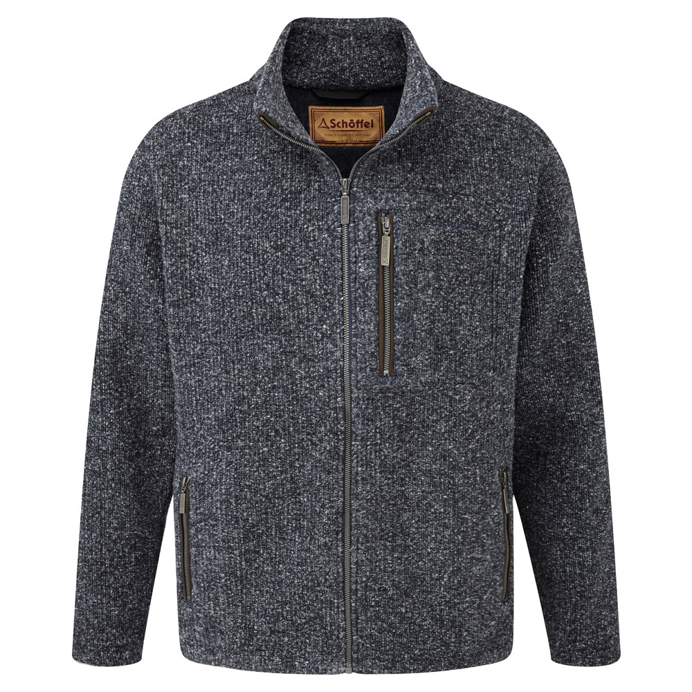 Schoffel Country Roxburgh Fleece Jacket Deep Blue