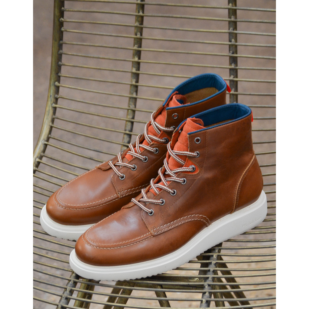 Paul Smith Shoes Caplan Ankle Boot Tan