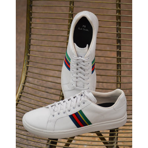 Lapin Leather Trainers White