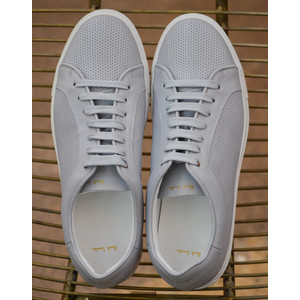 Paul Smith Shoes Basso Trainer Perforated Leather Grey