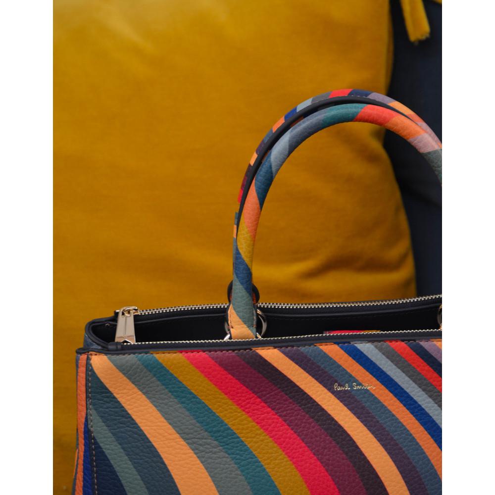 Paul Smith Accessories Swirl Double Zip Tote Multicolour