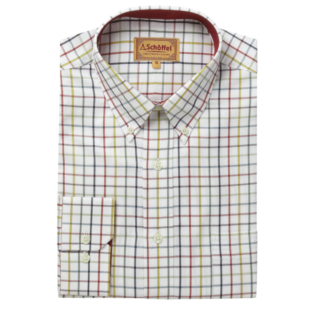Schoffel Country Banbury Shirt Multi Check