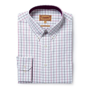 Banbury Shirt Pink/Grey