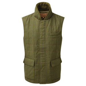 Schoffel Country Sedbergh Tweed Gilet in Sandringham Tweed