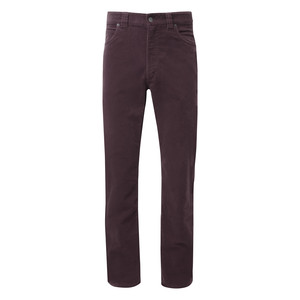 Canterbury Cord Jean 32 In Leg Mulberry
