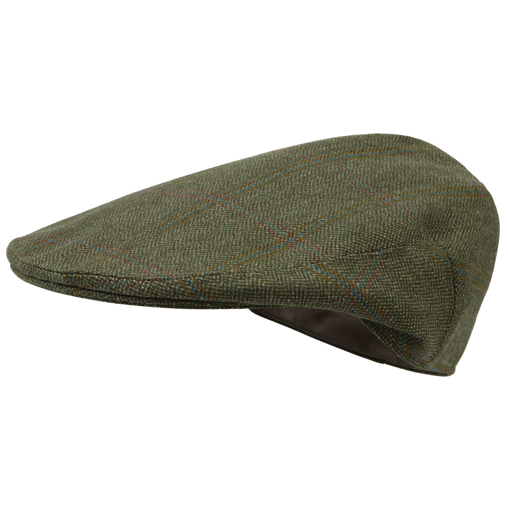 Schoffel Country Tweed Classic Cap Sandringham Tweed