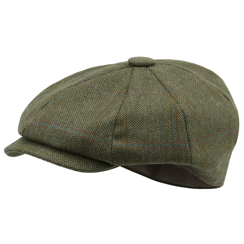 Schoffel Country Newsboy Cap Sandringham Tweed
