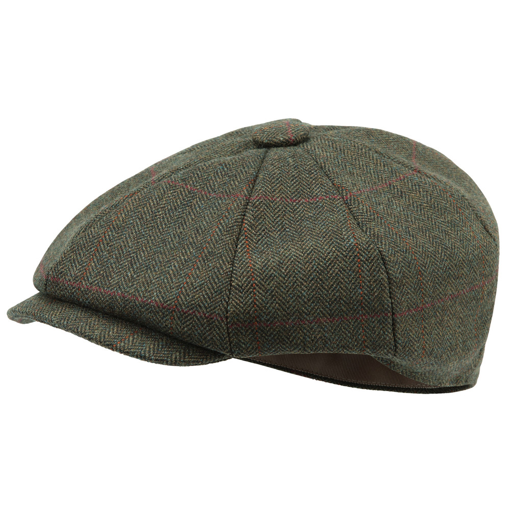 Schoffel Country Newsboy Cap Windsor Tweed