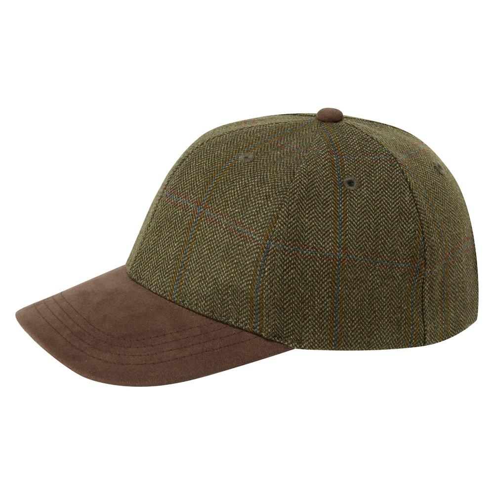 Schoffel Country Tweed Baseball Cap Sussex Tweed