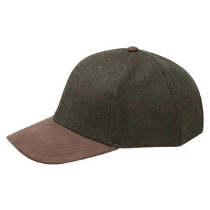 Tweed Baseball Cap Windsor Tweed