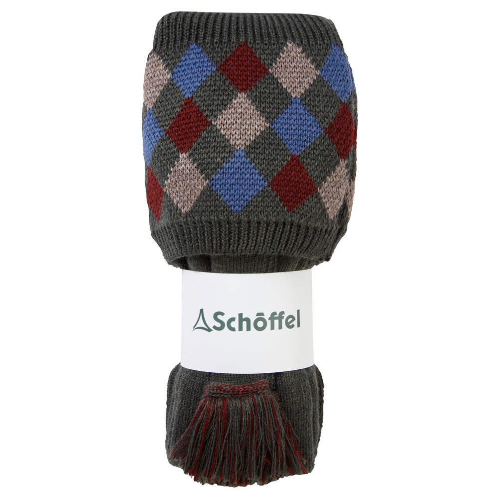 Schoffel Country Ptarmigan Pro Sock Forest/Mulb/Mink/Denim