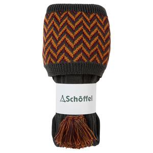 Schoffel Country Herringbone Sock in Forest/Ochre/Mulberry