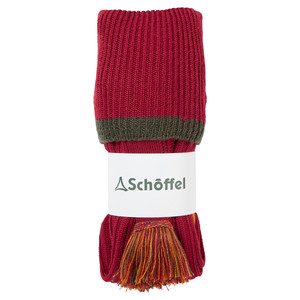 Schoffel Country Snipe Sock in Brick