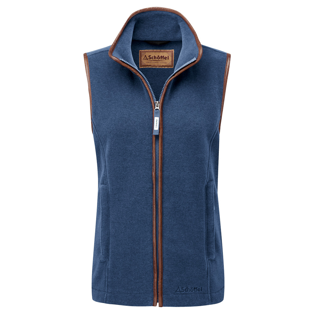 Schoffel Country Lyndon II Fleece Gilet Denim