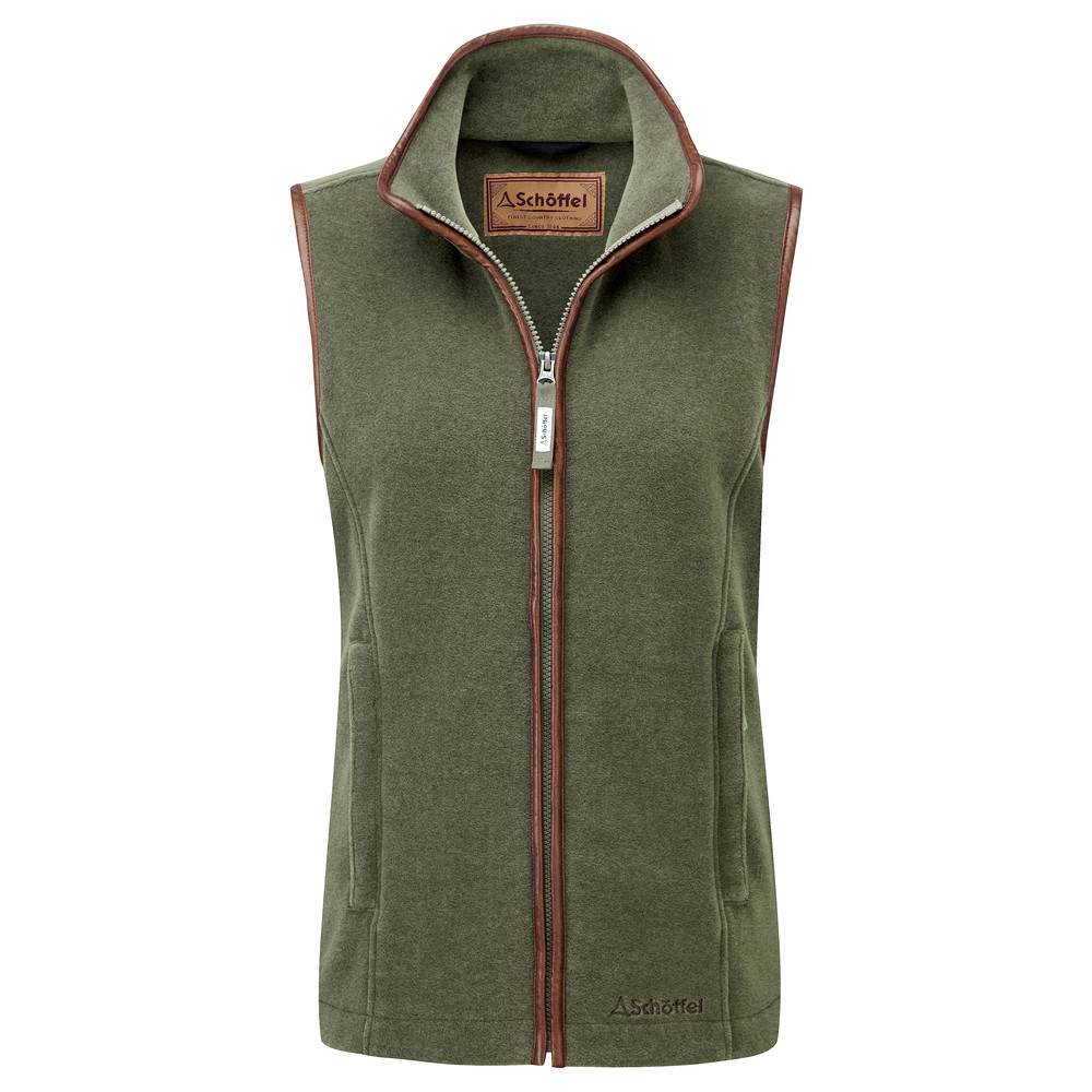 Schoffel Country Lyndon II Fleece Gilet Fern