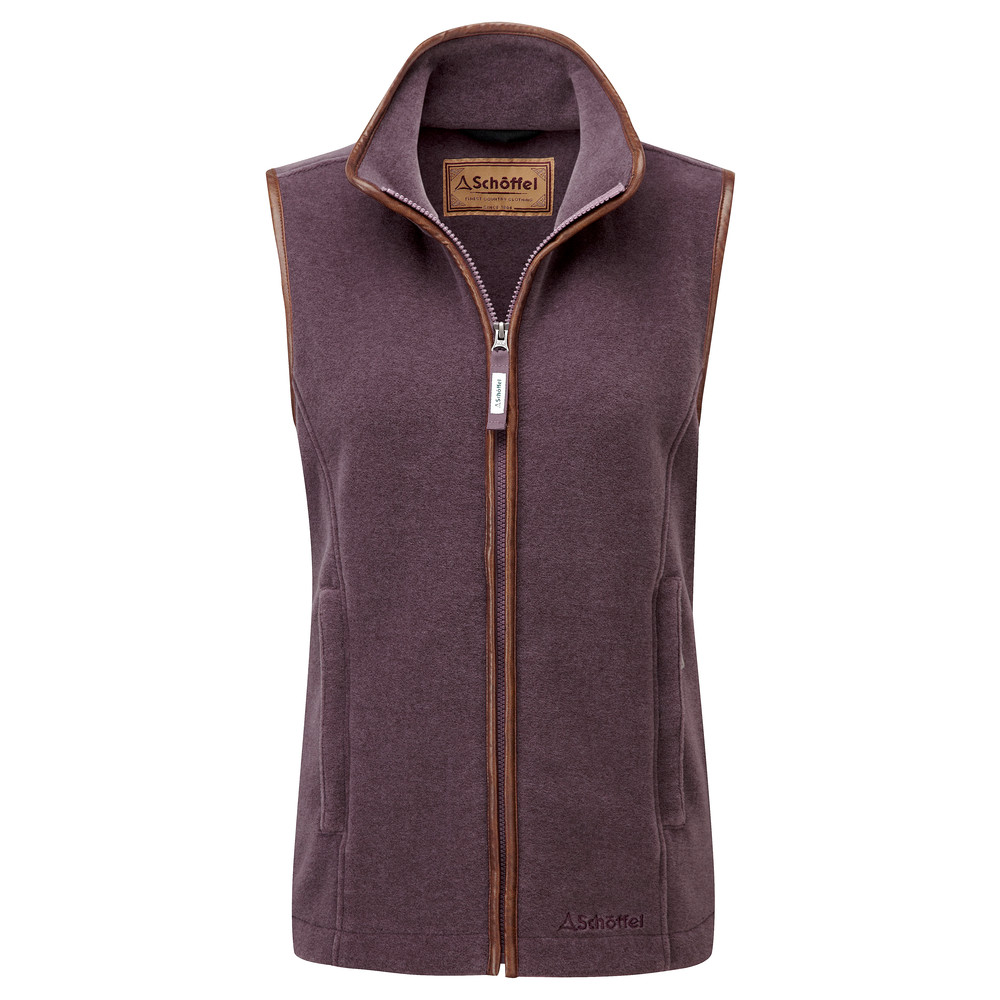 Schoffel Country Lyndon II Fleece Gilet Mink/Heather