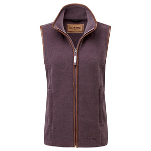 Schoffel Country Lyndon II Fleece Gilet in Mink/Heather