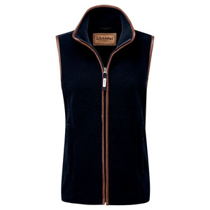 Schoffel Country Lyndon II Fleece Gilet in Navy
