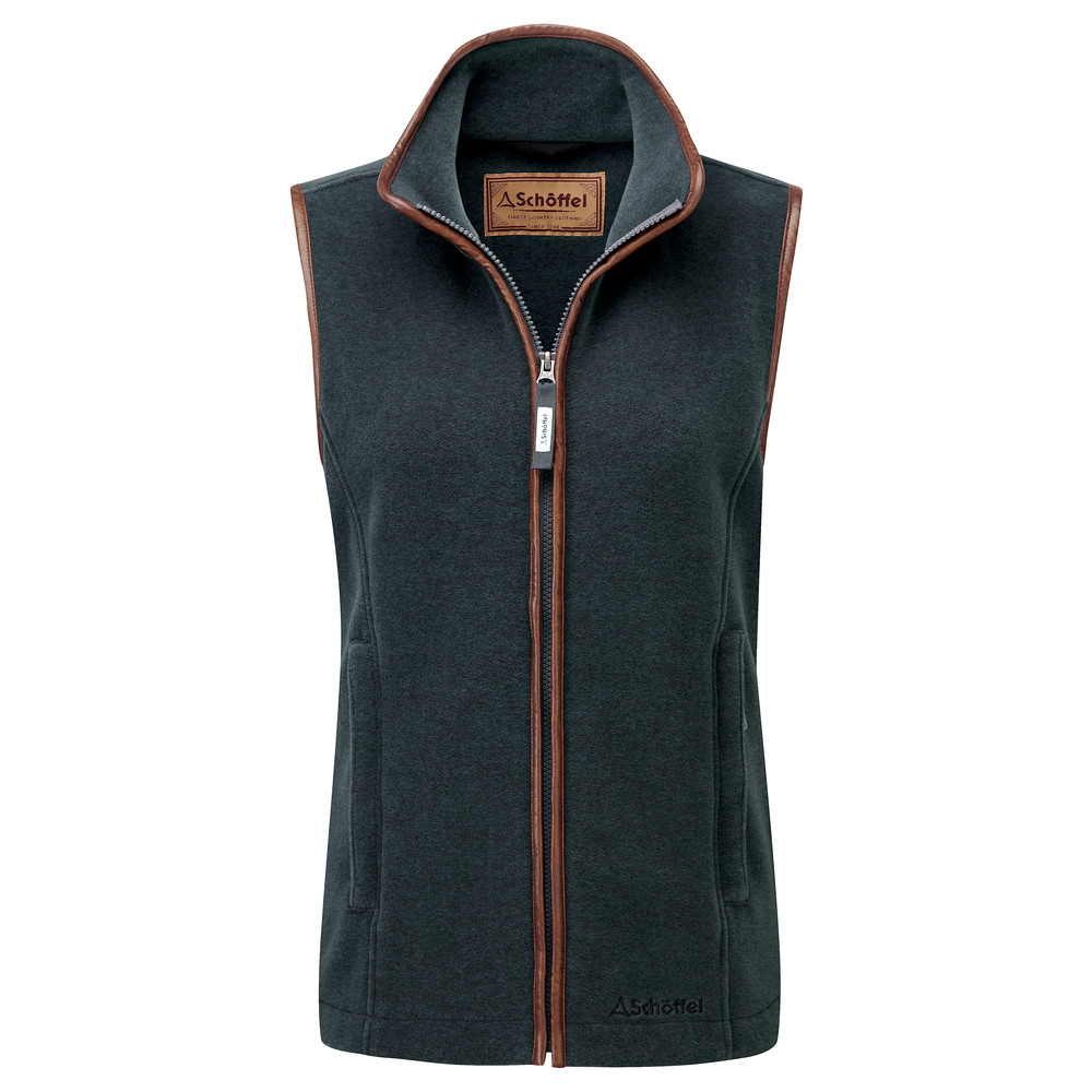 Schoffel Country Lyndon II Fleece Gilet Kingfisher