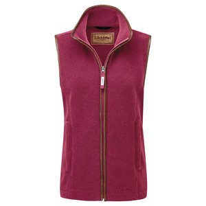 Lyndon II Fleece Gilet Raspberry
