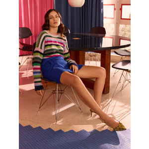 in.no Lola Slouch Multi Stripe Knit Multi