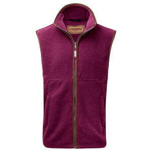 Schoffel Country Oakham Gilet in Plum