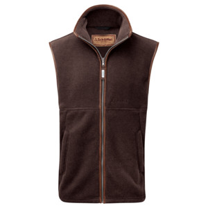 Schoffel Country Oakham Gilet in Mocha
