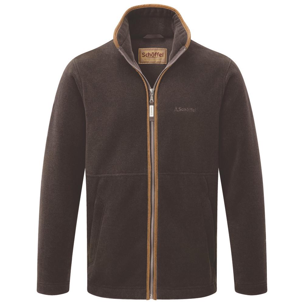 Schoffel Country Cottesmore Fleece Jacket Mocha