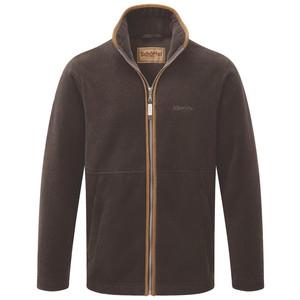 Schoffel Country Cottesmore Fleece Jacket in Mocha