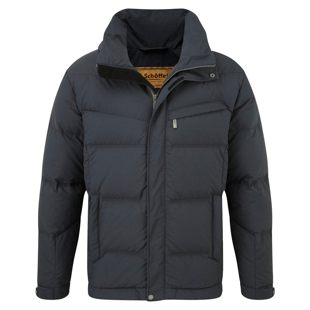 Schoffel Country Twickenham Down Coat Charcoal