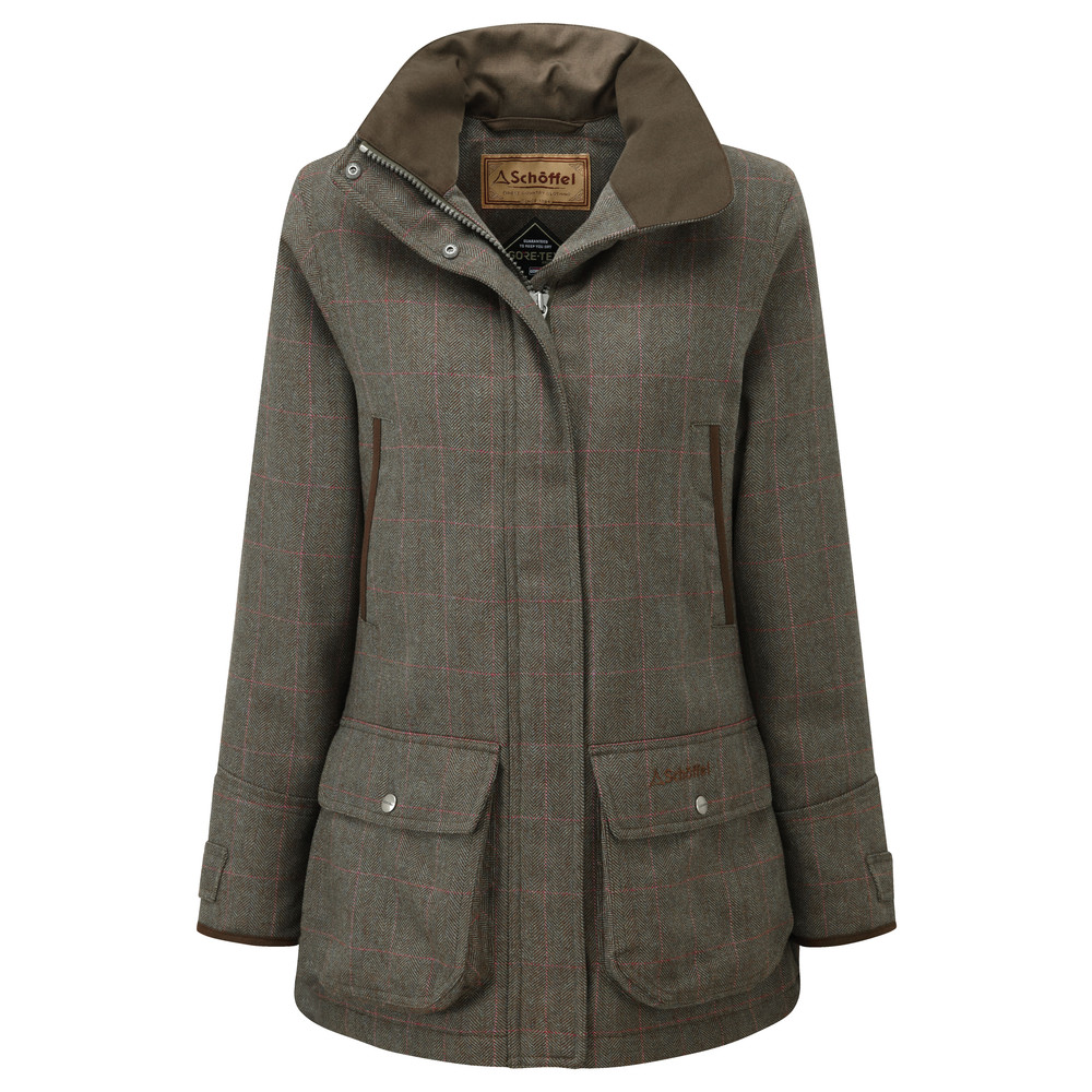Schoffel Country Ladies Ptarmigan Tweed Cavell Tweed