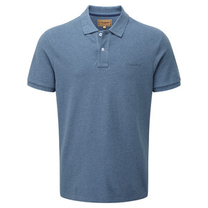 Schoffel Country Padstow Polo Shirt in Denim