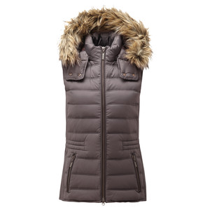 Schoffel Country Chelsea Down Gilet With Hood in Juniper