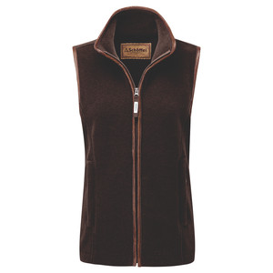 Schoffel Country Lyndon II Fleece Gilet in Mocha