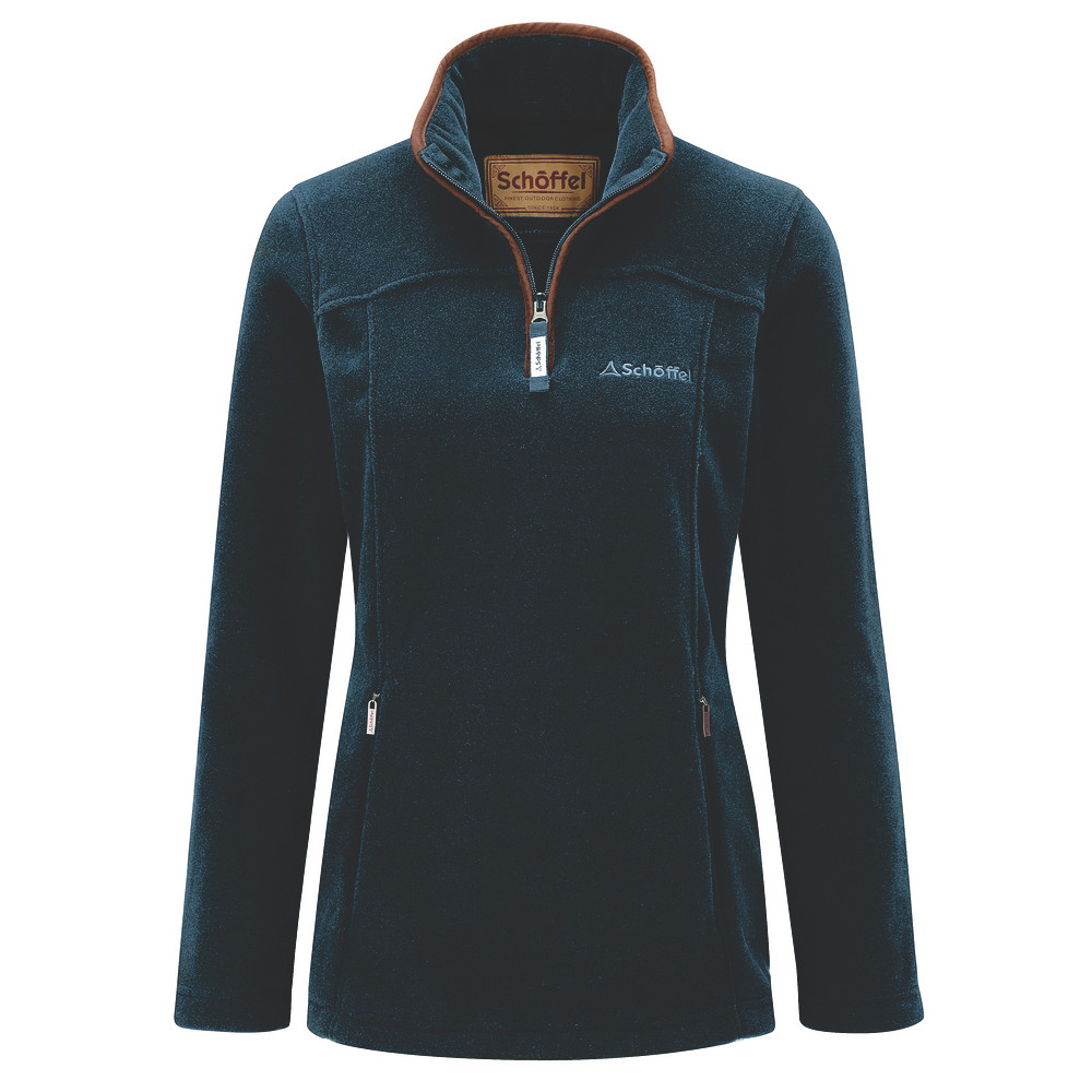 Schoffel Country Tilton 1/4 Zip Fleece Kingfisher