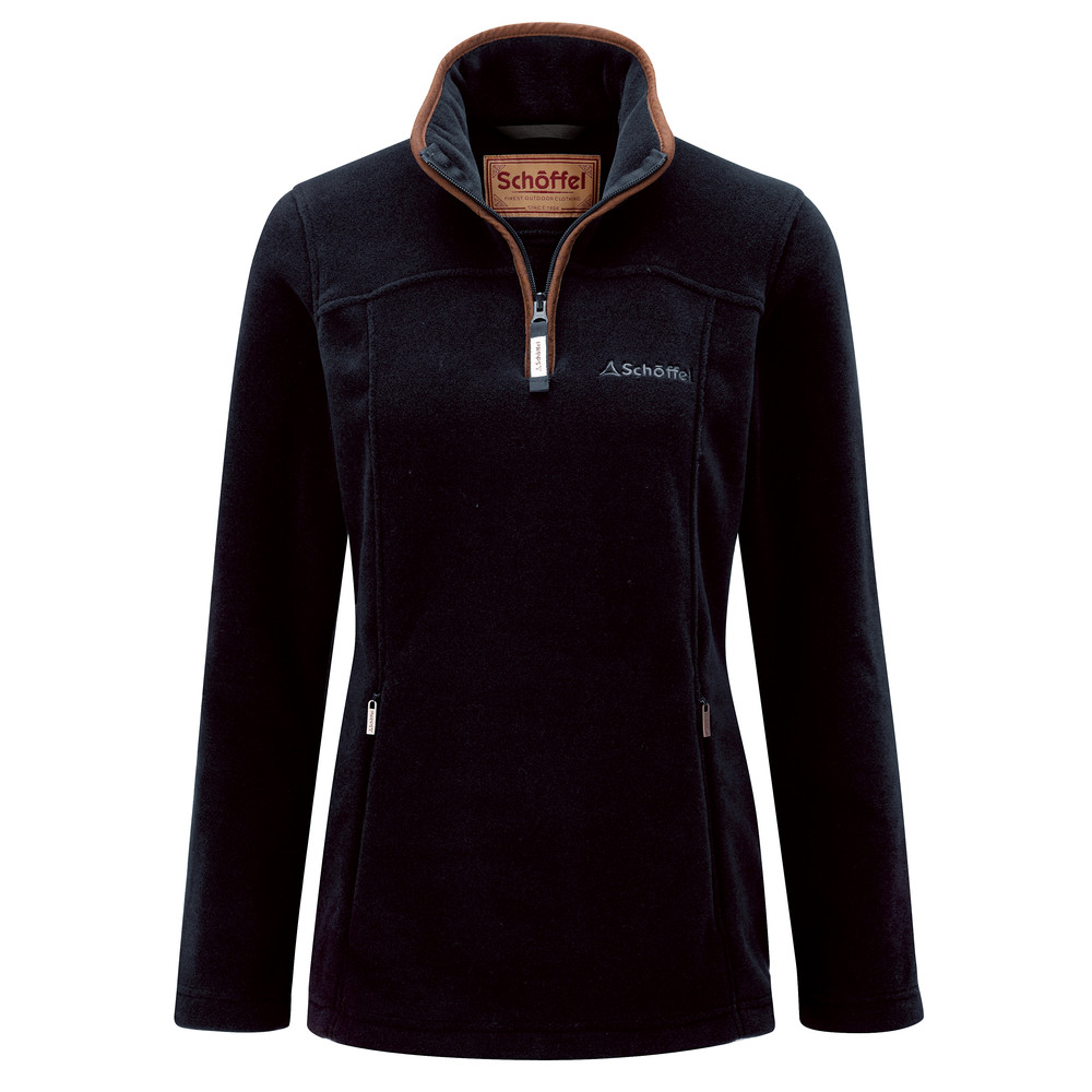Schoffel Country Tilton 1/4 Zip Fleece Navy