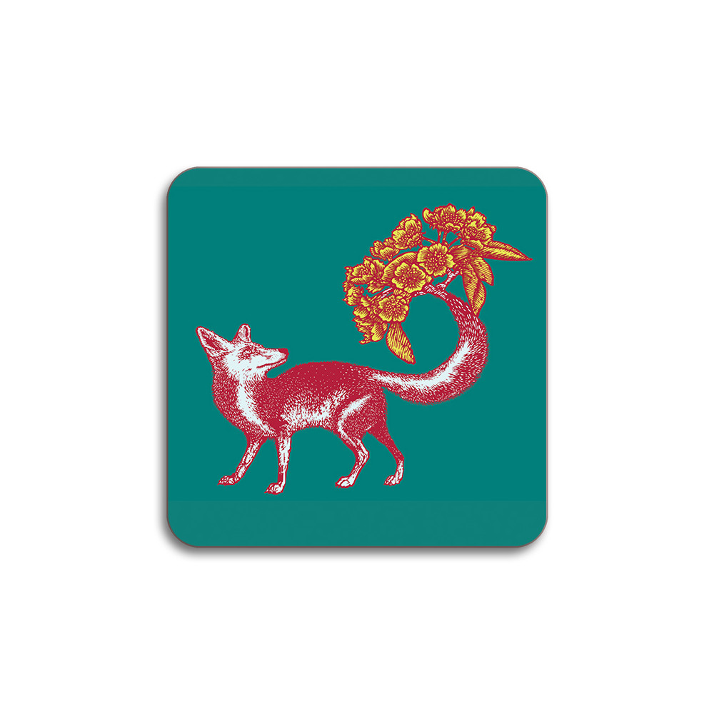 Avenida Home Fox Coaster Sea Green