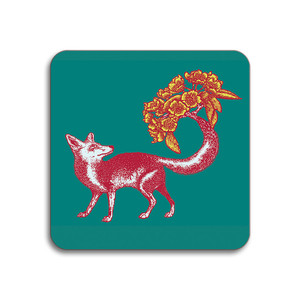 Fox Coaster Sea Green