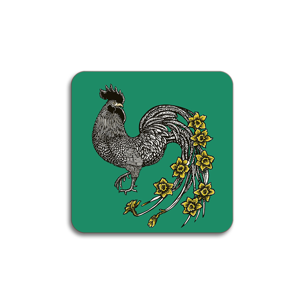 Avenida Home Rooster Coaster Green